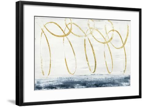 City Beach Crop Gold Art Print by Piper Rhue   Art.com