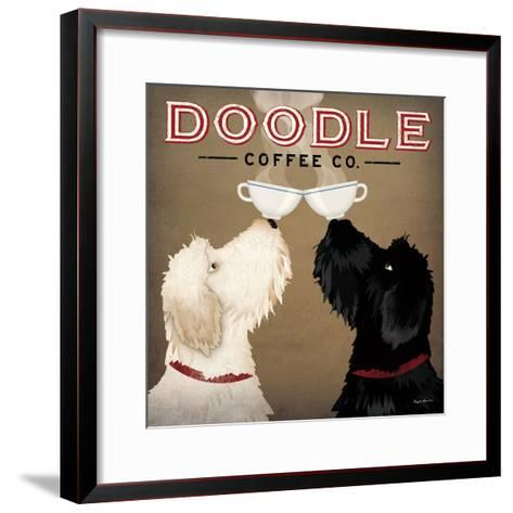 Doodle Coffee Double IV-Ryan Fowler-Framed Art Print