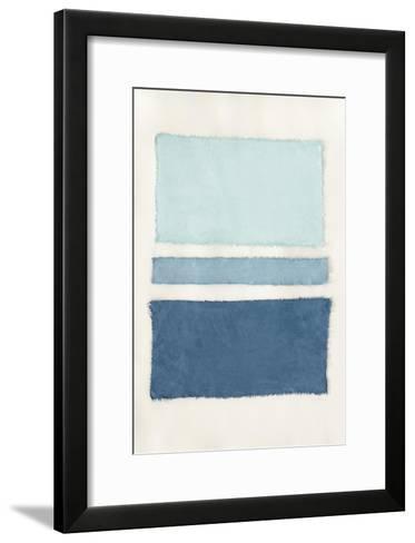 Painted Weaving V-Piper Rhue-Framed Art Print