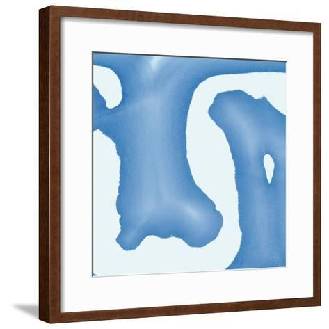 Batik Blue I-Piper Rhue-Framed Art Print