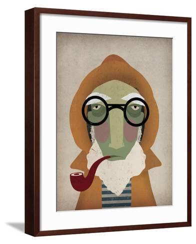 Fisherman II-Ryan Fowler-Framed Art Print