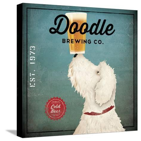 Doodle Beer-Ryan Fowler-Stretched Canvas Print