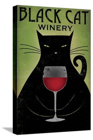 Black Cat Winery-Ryan Fowler-Stretched Canvas Print