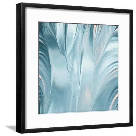 Flowing Water III-Piper Rhue-Framed Art Print