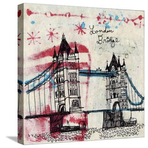 Tower Bridge-Oliver Towne-Stretched Canvas Print