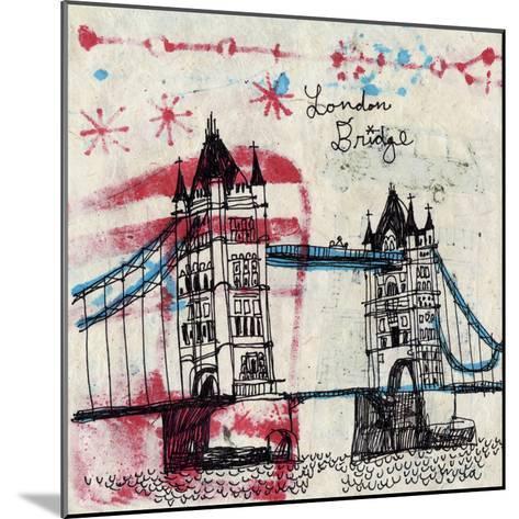 Tower Bridge-Oliver Towne-Mounted Art Print