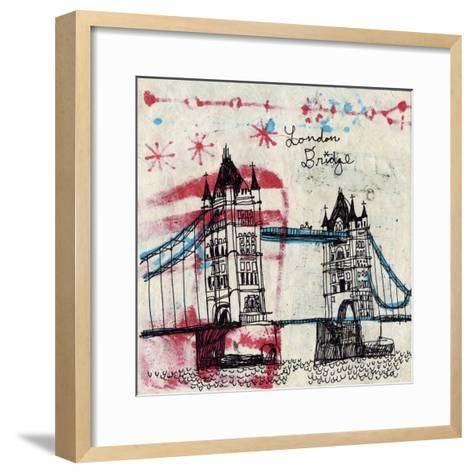 Tower Bridge-Oliver Towne-Framed Art Print