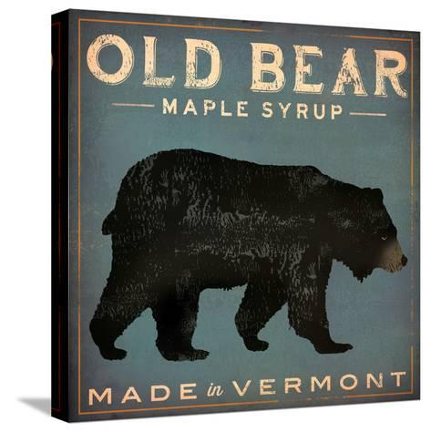 Old Bear-Ryan Fowler-Stretched Canvas Print