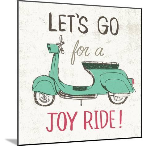 Road Trip Vespa-Oliver Towne-Mounted Art Print