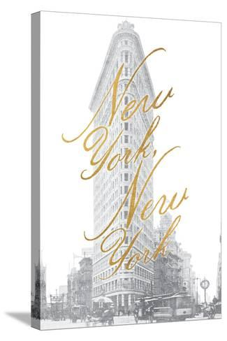 Gilded New York v2-Moira Hershey-Stretched Canvas Print