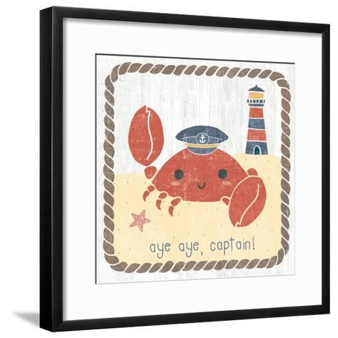 Nautical Friends II-Moira Hershey-Framed Art Print