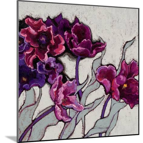 Ruffled Tulips-Shirley Novak-Mounted Art Print