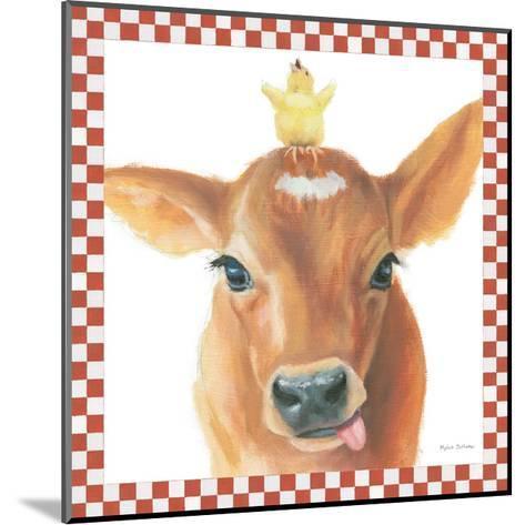 Farm Friends III Border-Myles Sullivan-Mounted Art Print