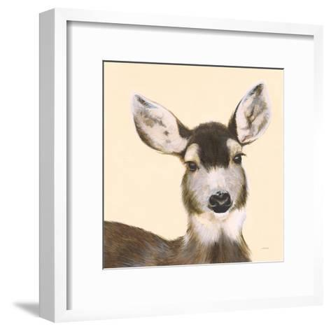 Whitetailed Deer I-Patsy Ducklow-Framed Art Print