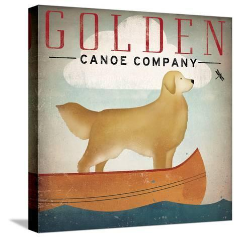 Golden Dog Canoe Co Right Facing-Ryan Fowler-Stretched Canvas Print