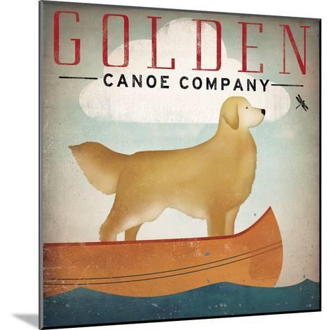Golden Dog Canoe Co Right Facing-Ryan Fowler-Mounted Art Print