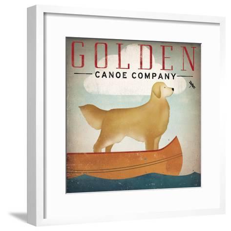Golden Dog Canoe Co Right Facing-Ryan Fowler-Framed Art Print