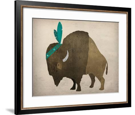 Buffalo Bison III-Ryan Fowler-Framed Art Print