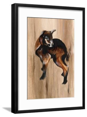 Baby Goat-Patsy Ducklow-Framed Art Print