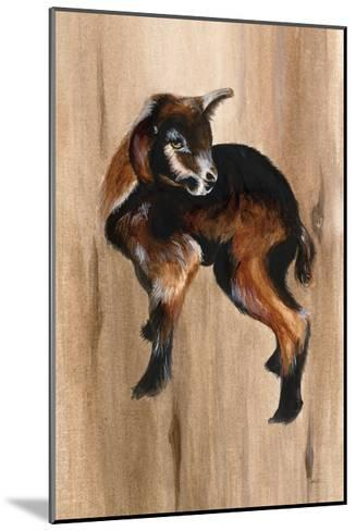 Baby Goat-Patsy Ducklow-Mounted Art Print