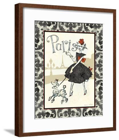 Cafe Paris-Naomi McBride-Framed Art Print