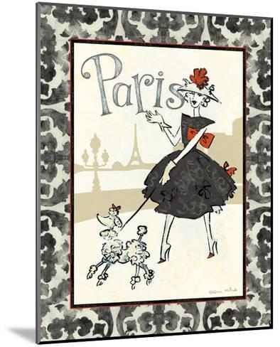 Cafe Paris-Naomi McBride-Mounted Art Print