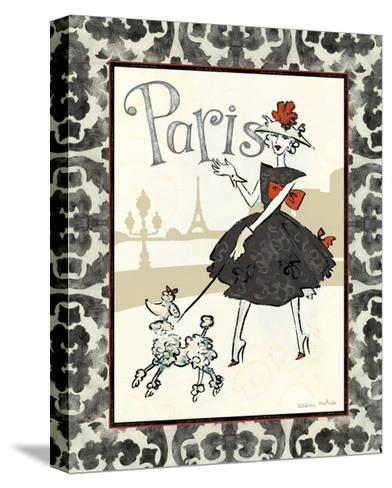 Cafe Paris-Naomi McBride-Stretched Canvas Print