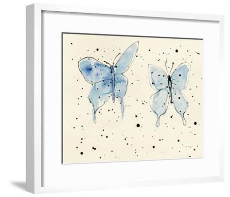 Butterfly Element III-Shirley Novak-Framed Art Print