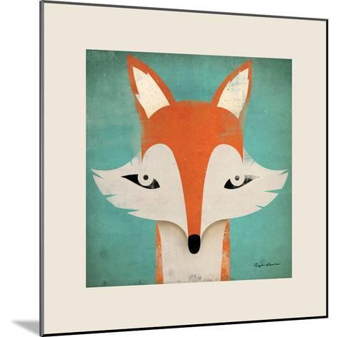 Fox with Border-Ryan Fowler-Mounted Art Print