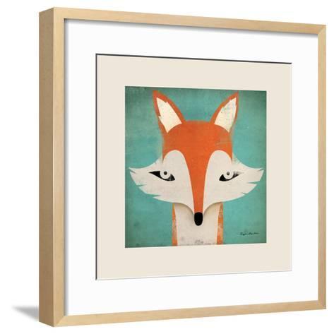 Fox with Border-Ryan Fowler-Framed Art Print