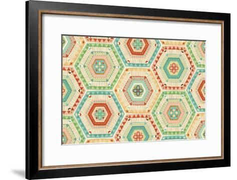 Southwest Geo XI-Veronique Charron-Framed Art Print