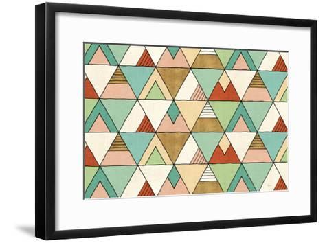Southwest Geo X-Veronique Charron-Framed Art Print