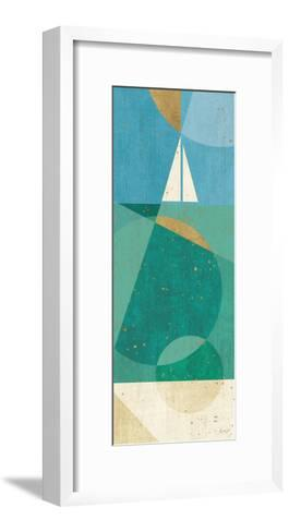 Seascape II-Veronique Charron-Framed Art Print