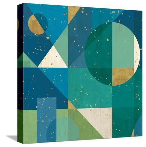 Geo Contour II-Veronique Charron-Stretched Canvas Print