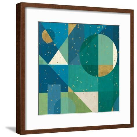 Geo Contour II-Veronique Charron-Framed Art Print