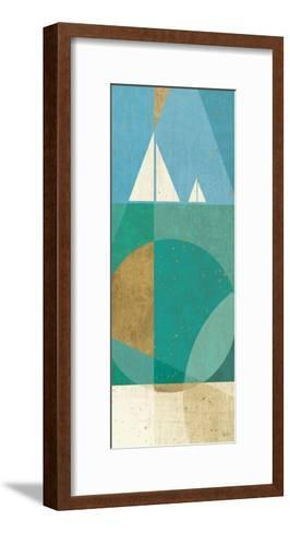 Seascape III-Veronique Charron-Framed Art Print