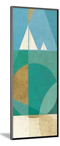 Seascape III-Veronique Charron-Mounted Art Print