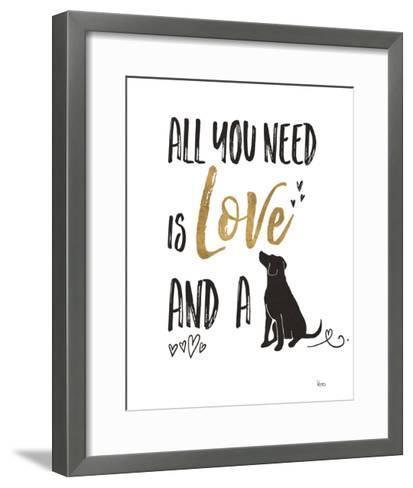 Pet Love II-Veronique Charron-Framed Art Print