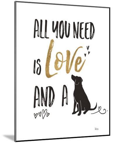 Pet Love II-Veronique Charron-Mounted Art Print