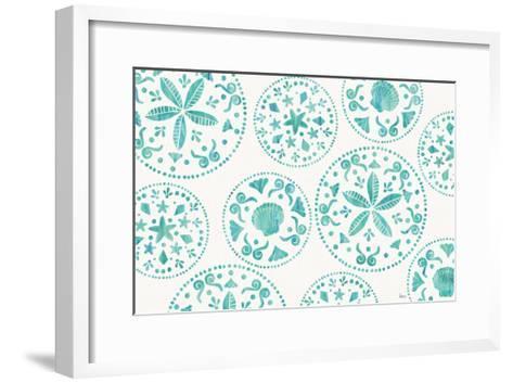 Sea Charms X Teal-Veronique Charron-Framed Art Print