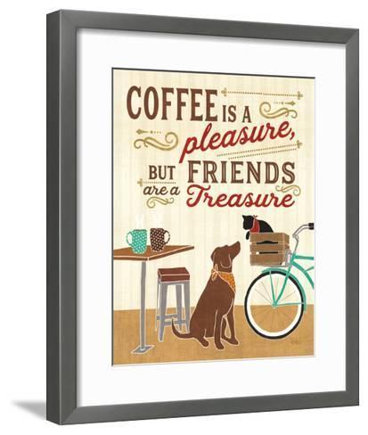 Coffee and Friends II-Veronique Charron-Framed Art Print