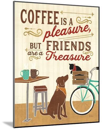 Coffee and Friends II-Veronique Charron-Mounted Art Print