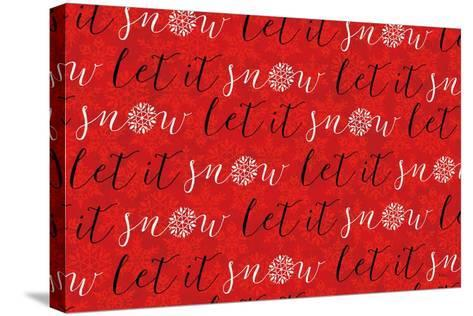 Holiday Charms V Red-Veronique Charron-Stretched Canvas Print