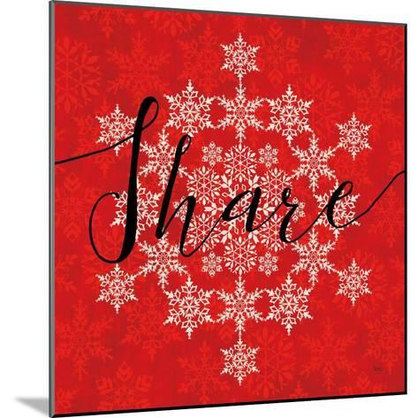 Holiday Charms II Red-Veronique Charron-Mounted Art Print