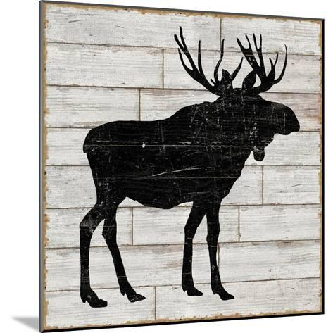 Lake Lodge I Neutral no Words-Sue Schlabach-Mounted Art Print