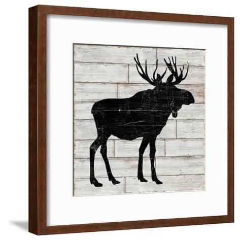 Lake Lodge I Neutral no Words-Sue Schlabach-Framed Art Print