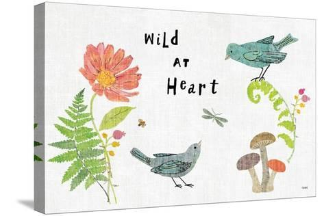 Wild Wings I-Sue Schlabach-Stretched Canvas Print
