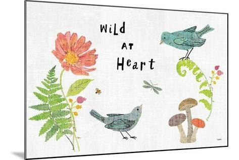Wild Wings I-Sue Schlabach-Mounted Art Print