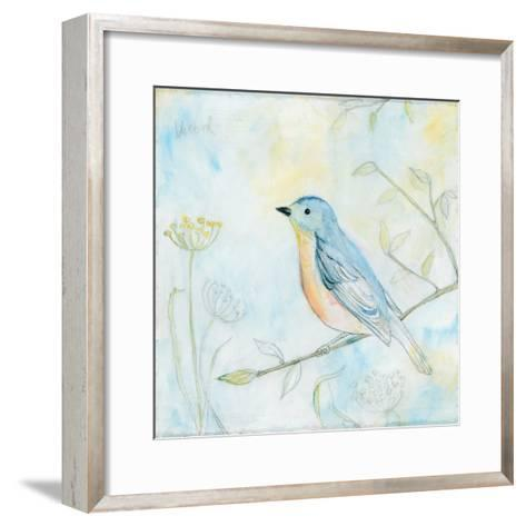 Sketched Songbird II-Sue Schlabach-Framed Art Print