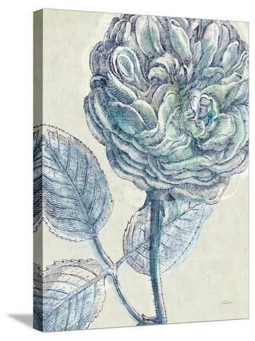 Belle Fleur III Crop-Sue Schlabach-Stretched Canvas Print
